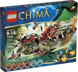 LEGO Chima Cragger's Command Ship 70006