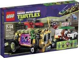 LEGO Ninja Turtles The Shellraiser Street Chase 79104