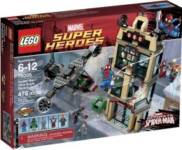 LEGO Super Heroes Spider-Man: Daily Bugle Showdown 76005