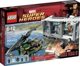 LEGO® Super Heroes Iron Man: Malibu Mansion Attack 76007