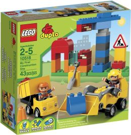 LEGO® DUPLO Brick Themes My First Construction Site 10518