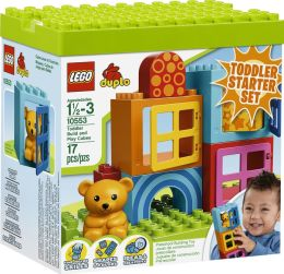 LEGO® DUPLO Creative Play Toddler Build and Play Cubes 10553