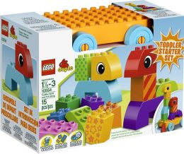 LEGO® DUPLO Creative Play Toddler Build and Pull Along 10554