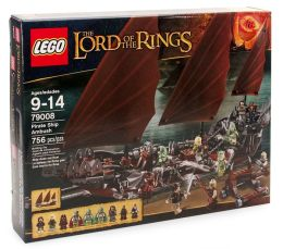 LEGO Lord of the Rings and Hobbit Pirate Ship Ambush 79008