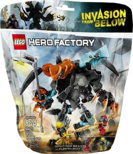 LEGO® Hero Factory Splitter Beast vs. Furno & Evo 44021