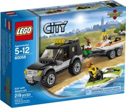 LEGO® City SUV with Watercraft 60058