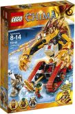 Product Image. Title: LEGO Legends of Chima Laval's Fire Lion 70144