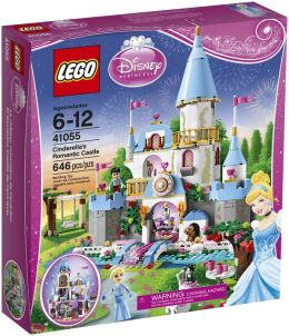 LEGO® brand Disney Princess™ Cinderella's Romantic Castle 41055