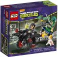 Product Image. Title: LEGO� Teenage Mutant Ninja Turtles Karai Bike Escape 79118