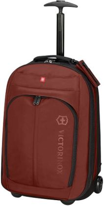 Victorinox Seefeld 22 inch Wheeled Carry On Suitcase-Maroon