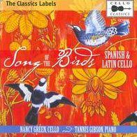 Song of the Birds: Spanish & Latin Cello