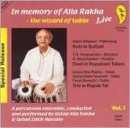 In Memory of Alla Rakha - The Wizard of Tabla, Vol. 1