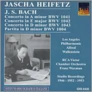 Jascha Heifetz Plays Johann Sebastian Bach