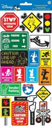 Disney Cardstock Stickers-Signs