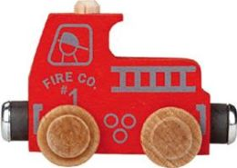 Maple Landmark 10224 NAMETRAIN- COLOR CARS- FIRE TRUCK