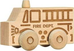 Maple Landmark 71203 Schoolhouse Naturals - Natural Scoots Fire Truck