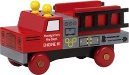 Maple Landmark 76110 MONTGOMERY SCHOOLHOUSE- CLASSICS- FIRE TRUCK
