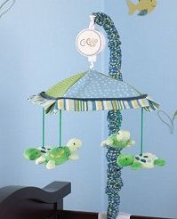 CoCaLo Turtle Reef Collection Musical Mobile