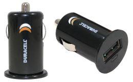Duracell DU1618 Mini USB Car Charger - Black