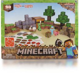 Minecraft #1 Papercraft - Overworld Deluxe Set