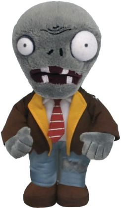 Plants vs. Zombies 7 Inch Plush, Zombie