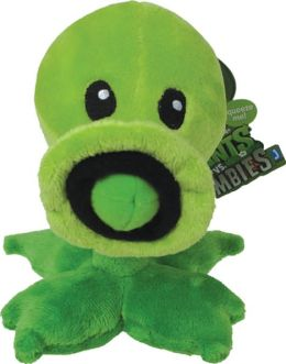 Plants vs. Zombies 7 Inch Plush, Pea Shooter
