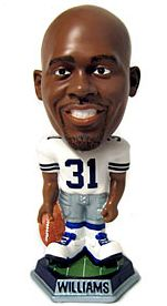 Caseys Distributing 8132967388 Dallas Cowboys Roy Williams Forever Collectibles Knucklehead Bobble Head