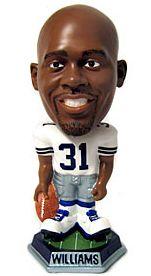Caseys Distributing 8132967388 Dallas Cowboys Roy Williams Forever Collectibles Knucklehead Bobble Head