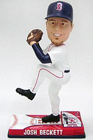 Caseys Distributing 8132970375 Boston Red Sox Josh Beckett Forever Collectibles On Field Bobble Head