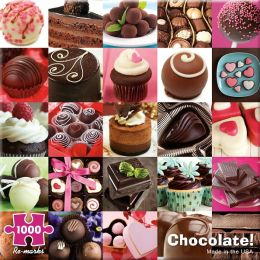 Chocolate 1000 Piece Puzzle