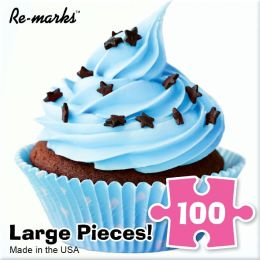 Chocolate Cupcake 100 Piece Puzzle