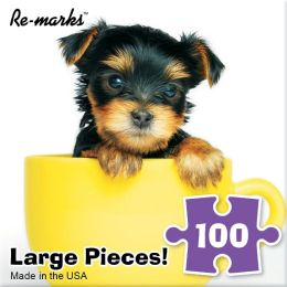 Teacup Puppy 100 Piece Puzzle