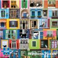 Product Image. Title: 1000 Piece Window Cats Puzzle