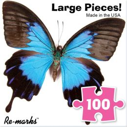 100 Piece Puzzle Cube Butterfly