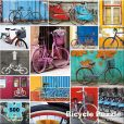 Product Image. Title: 500 Piece Mod Bicycle Puzzle