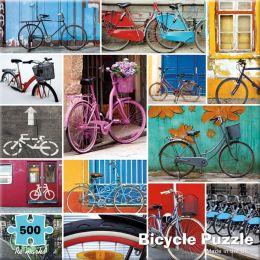 500 Piece Mod Bicycle Puzzle