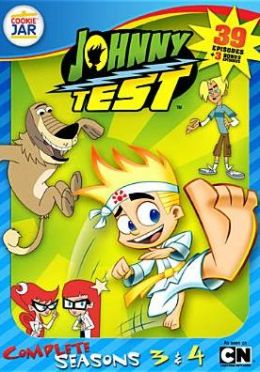 Johnny Test: the Complete Seasons 3 & 4 (4pc)
