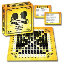 Word for Word Junior Edition Board Game