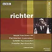 Richter Plays Mozart, Tchaikovsky, and Rachmaninov