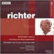 Schumann: Papillons; Introduction & Allegro appassionato; Schubert: Piano Sonata in B flat major, D. 960