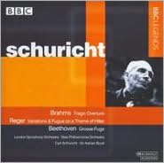 Brahms: Tragic Overture; Reger: Variations & Fugue on a theme by Hiller; Beethoven: Grosse Fuge