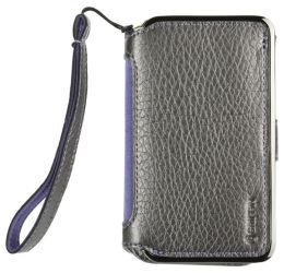Elan Passport Wallet for iPhone 4 in Platinum with lanyard