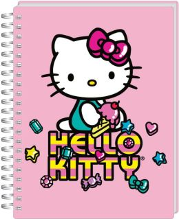 Hello Kitty Pink Iconic Spiral Bound Journal