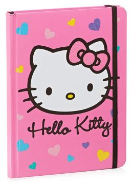 Hello Kitty Hearts Bound Lined Journal 6