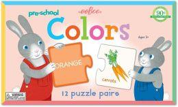 Color Pre-School Puzzle Pairs