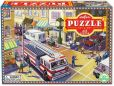 Product Image. Title: Fire Truck 42 Piece Puzzle