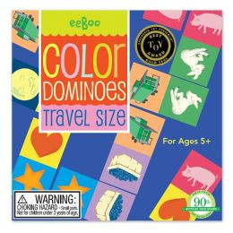 Color Dominoes Travel Game