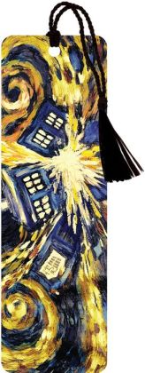 Doctor Who Exploding TARDIS Paper Bookmark