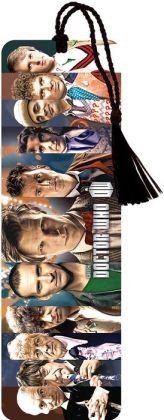 Doctor Who Eleven Doctors Paper Bookmark