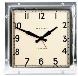 Quad Alam Clock - Chrome